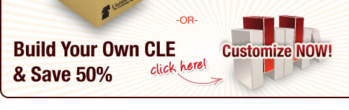 Build Your Own CLE and Save 50%