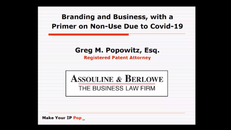 Branding and Business, with a Primer on Non-Use Due to Covid-19 Thumbnail