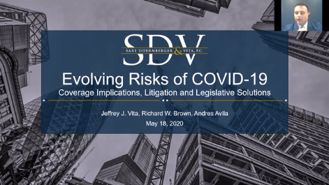 Evolving Risks of COVID-19: Coverage Implications, Recent Litigation and the Legislative Landscape Thumbnail