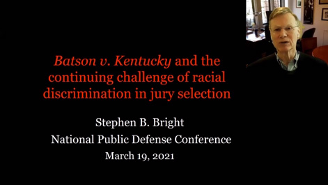 Batson v. Kentucky and the Continuing Challenge of Racial Discrimination in Jury Selection Thumbnail