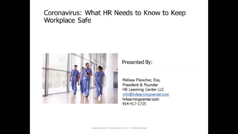Coronavirus: What You Need to Know to Keep the Workplace Safe Thumbnail