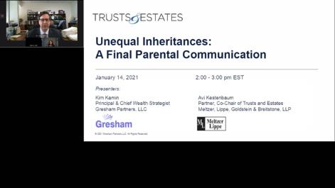 Unequal Inheritances: A Final Parental Communication Thumbnail