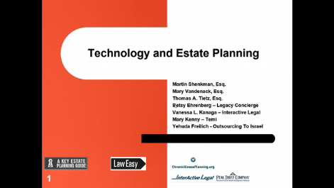 Technology and Estate Planning Thumbnail