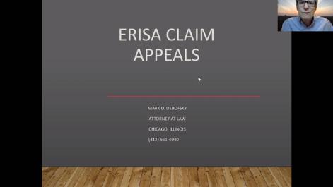 ERISA Claim Appeals Thumbnail