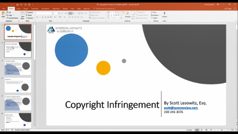 Copyright Infringement: How to Defend Lawsuits and Protect Assets Thumbnail