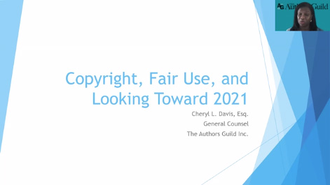 Copyright, Fair Use, and Looking Toward 2021 Thumbnail