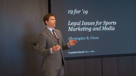 Sports Marketing & Media's Top Legal Issues: Analyzing the Past and Preparing for the Future Thumbnail
