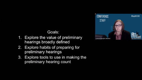 Panning for Gold: Making Preliminary Hearings Count Thumbnail