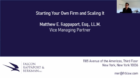 Starting Your Own Firm & Scaling It Thumbnail