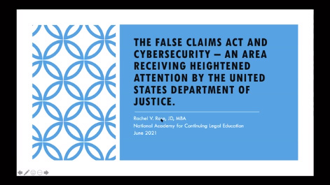 The False Claims Act & Cybersecurity: An Area Receiving Heightened Attention by the United States Department of Justice Thumbnail