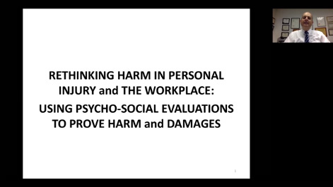 Rethinking Harm in Personal Injury and Negligence Cases: Using Psychosocial Evaluations to Uncover Harm Thumbnail