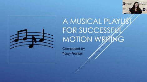 A Musical Playlist for Successful Motion Writing Thumbnail