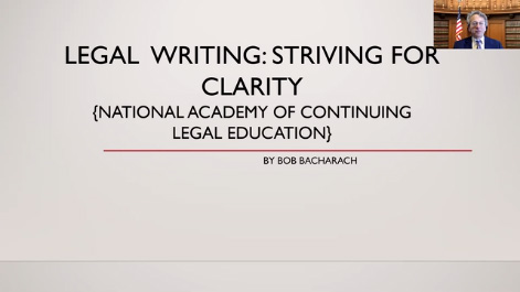 Legal Writing: Striving for Clarity Thumbnail