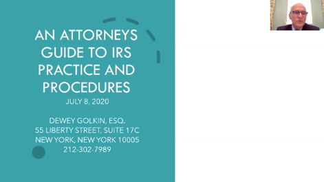 An Attorney's Guide to IRS Practices and Procedures Thumbnail