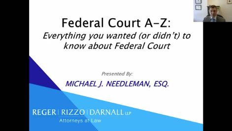 Federal Court A-Z: Everything You Wanted to Know About Federal Court Thumbnail