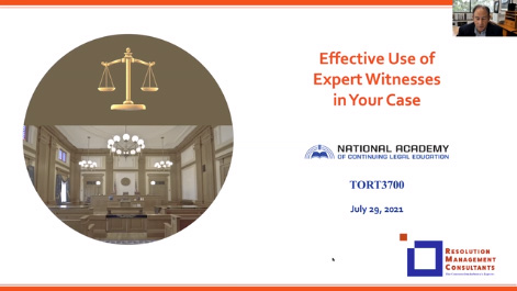 Effective Use of Expert Witnesses in Your Case Thumbnail