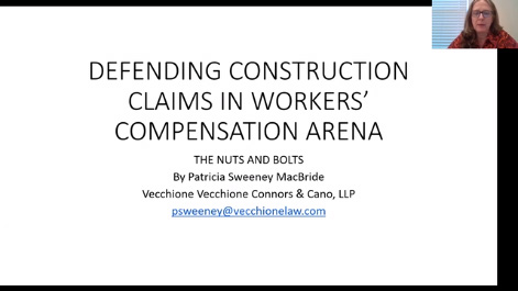 Defending Construction Claims in the Workers' Compensation Arena: The Nuts and Bolts Thumbnail